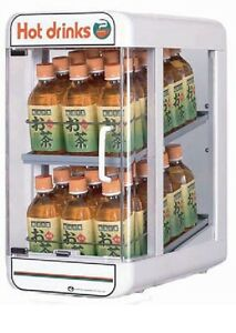 Electric Plastic Pet Bottle Warmer Display Case 2tiers Made In Japan