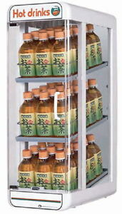 Electric Plastic Pet Bottle Warmer Display Case 3tiers Made In Japan