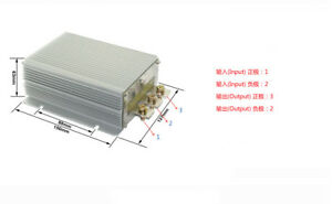 New 12v To 28v 30a 840w Dc Converter Step up Boost Power Supply Module Car