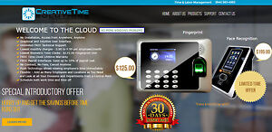 Fingerprint Time Clock 125 Cloud Solution Access From Anywhere