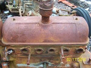 Ac Allis Chalmers B C Maybe Ca Tractor Engine Valve Cover
