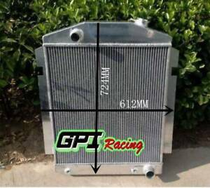 56mm Aluminum Radiator For Chevy Pickup Truck W Sbc Bbc V8 Or L6 1938 1940 1939