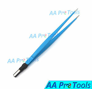 Aa Pro Bipolar Forceps Straight Reusable Surgical Instruments 1mm Tip