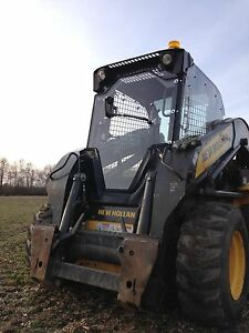Case Sr210 Sr220 Sr250 Snow Plow Tractor Cab W door Handle Hand Wiper