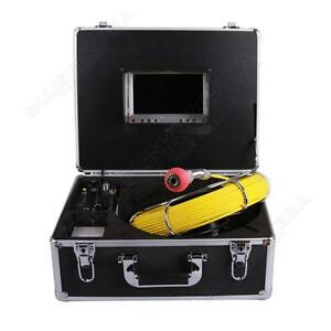 7 Color Lcd 30m Sewer Waterproof Camera Pipe Pipeline Drain Inspection System