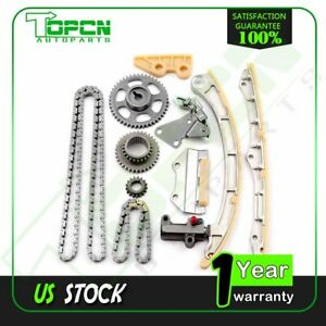 Timing Chain Kit Oil Pump Drive Set For 03 07 Honda Accord 2 4l K24a1 K24a4 A8