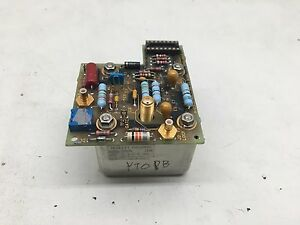 Agilent Hp Yo Ii Bias A26 Assembly 5062 4512 With 5086 7505 Osc 2 3 7 8ghz