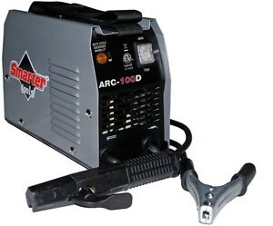 Smarter Tools 120v 100 Amp Stick Welder Combo Kit With Overheat Protection New