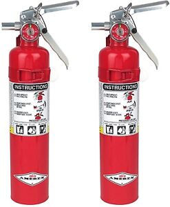 Two new 2018 buckeye 2 1 2lb Abc Fire Extinguisher W vehicle Bracket