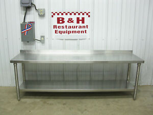 72 X 18 Stainless Steel Equipment Stand Work Prep Table 6 Wide 25 Tall