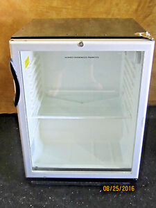 Summit Commercial Beverage Cooler Model Scr 600bl Used Good Working Condition