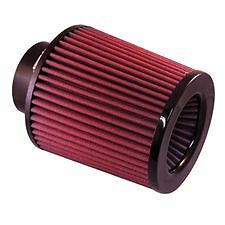 Universal 3 5 Inlet X 6 Tall Red Big Mouth Air Filter Clamp