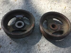 John Deere 259318m Flat Grooved Pulley hit Miss engine Tractor