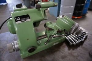 Deckel So Single Lip Tool Cutter Grinder Late Model With Collets