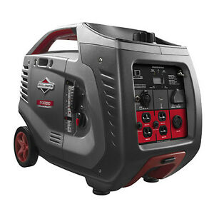 Briggs Stratton P3000 2600 Watt Power Smart Series Inverter Generator 030545