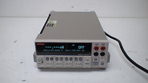 Keithley 2420 1uv 60v 100pa 3a 60w High Current Sourcemeter