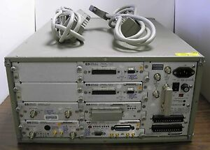 Hp 35650 Signal Analyzer Mainframe W 2 X 35655a 35659a 35651b 35653c 35656b