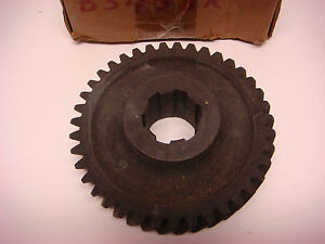 Nos John Deere Part No B3458r Gear Jd076 Vintage Tractor Equipment