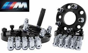 Bmw Hub Centric Wheel Adapters Kit 20mm Thick A Set Of Monster Lug 35