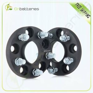 2p 20 Mm Thick 5x4 5 Hubcentric Wheel Spacers 14x1 5 For 2015 2016 Ford Mustang