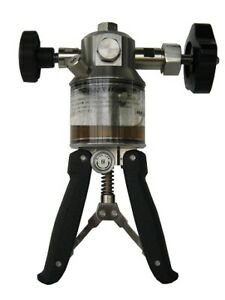 Portable Hydraulic Hand Pump Oil Operated Model Hhp 1000
