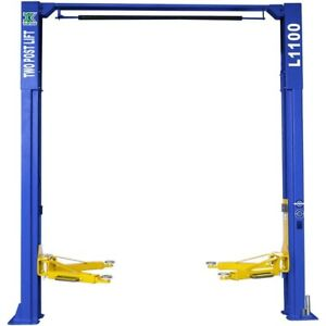 Two Post Car Lift 10 000lbs Capacity Auto Truck Hoist Overhead Clear Floor