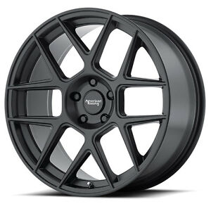 20 Staggered American Racing Ar913 Black Wheels Rims 5x4 5 Ford Mustang Gt