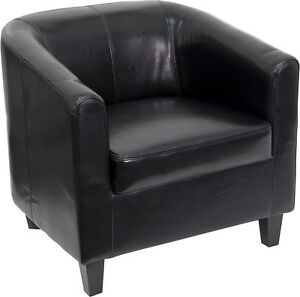Flash Furniture Black Leather Office Guest Chair reception Chair Bt 873 bk gg