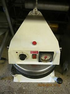 just Reduced Commercial Counter Top Pizza Dough Press