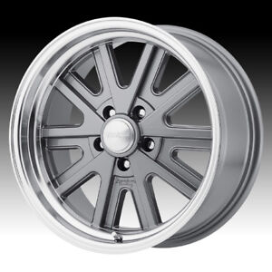 American Racing Vn527 427 Mono Cast Mag Gray 17x7 5x4 75 0mm Vn52777034400