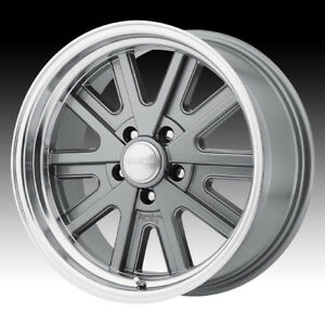 American Racing Vn527 427 Mono Cast Mag Gray 17x8 5x4 5 0mm Vn52778012400