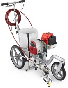 Airless Parking Lot Line Striping Paint Sprayer Athletic Field Marking Striper