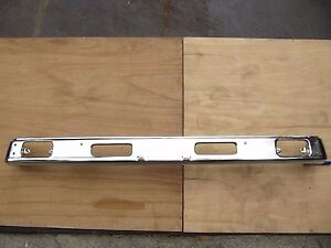 Fit For Toyota Pickup Hilux 2wd Chrome Front Bumper 1979 81 Imperfect