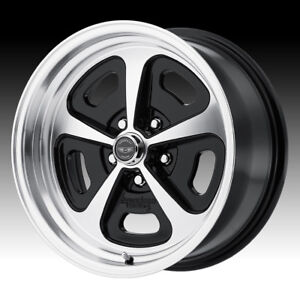 American Racing Vn501 500 Mono Cast Machined Black 17x8 5x4 75 0mm Vn50178034500
