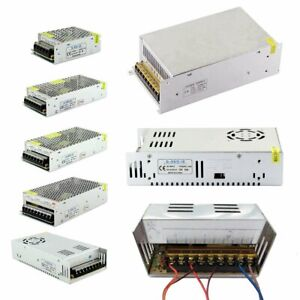 Ac 110 220v To Dc 5v 12v 24v 36v 48v Switch Power Supply Adapter Led Strip Light