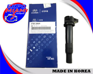 Genuine Fits 06 11 Hyundai Accent Kia Rio 1 6l Ignition Coil Oem 27301 26640