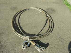 Stainless Wire Rope 1 Dia 32 Rigging Crane Logging Cable Strap Sling
