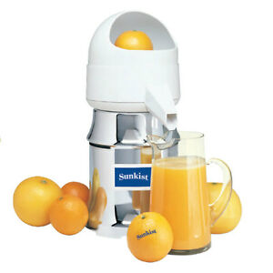 New Sunkist J2 Commercial Citrus Juicer J 2 220v Export