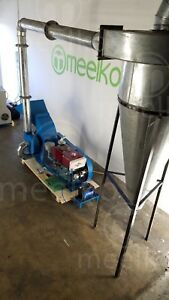 Hammer Mill With Cyclone 22hp Diesel Engine Electric Starter usa Stock