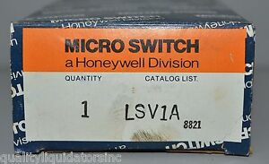 Honeywell Microswitch Lsv1a Limit Switch New