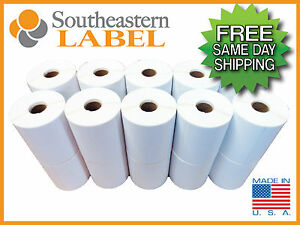 4x6 Direct Thermal 20 Rolls 5 000 Labels Zebra Eltron 2844 Free Shipping