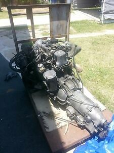 Mercedes Benz 240 D Engine And Transmission