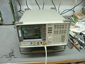 Hp Agilent 8592l Spectrum Analyzer W Various Options Opt 26 Avail 9khz 26 5ghz