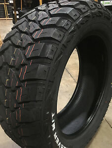 4 New 35x12 50r22 Kenda Klever M T 35125022 35 12 50 22 Mud Tire R22 Mt 10 Ply