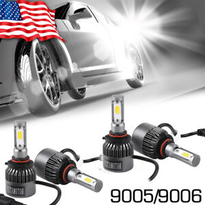 160w 16000lm Cree Led Headlight High Low Beam 6000k White 9005 H11 H8 H9 Kit