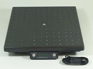 Fairbanks Shipping Scale Ultegra Ii 14x14 Flat Top 150 X 05 Lb Capacity Usb