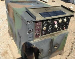 Lots Of Army Generator Mep 802 5kw Or 15kw 3kw Diesel Water Cooled low Hours