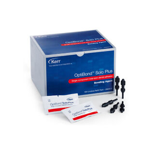 Kerr Optibond Solo Plus Unidose Packets Package Of 100 Genuine Kerr Product