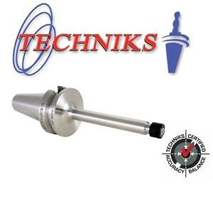 Techniks Bt30 Er16 Mini Nut Collet Chuck 70mm Long At3 Ground 16308