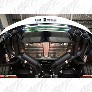 Mbrp 2016 2020 Chevrolet Camaro Ss Manual Quad Tip Axleback Exhaust System Black